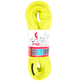 Fixe Monkey SPD FullDry Rope 9,0mm x 60m, neon yellow